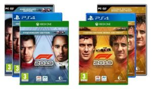 F1 2019 Versions
