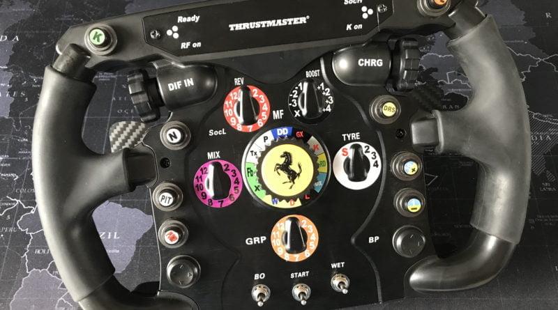 3DRAP Thrustmaster Magnetic Paddles for F1 Wheel (v2) MOD