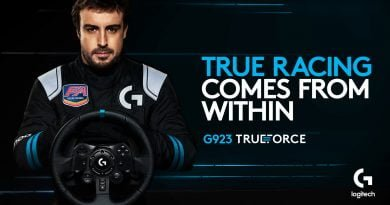 Logitech G923 TRUEFORCE Sim Racing Wheel